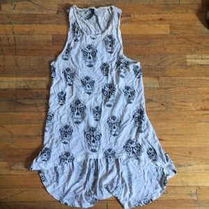 Candy skull tank top